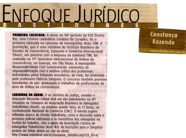 Bernardo Cabral encerra a XIª Caravana da ABRAT, que aconteceu no Rio e com apoio da ACAT-RJ