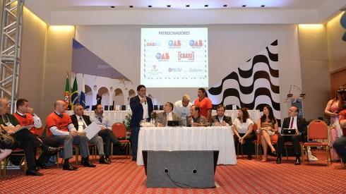 O site da CAARJ noticiou o sucesso do 35º CONAT, realizado entre os dias 9 e 12 de outubro, no Rio de Janeiro