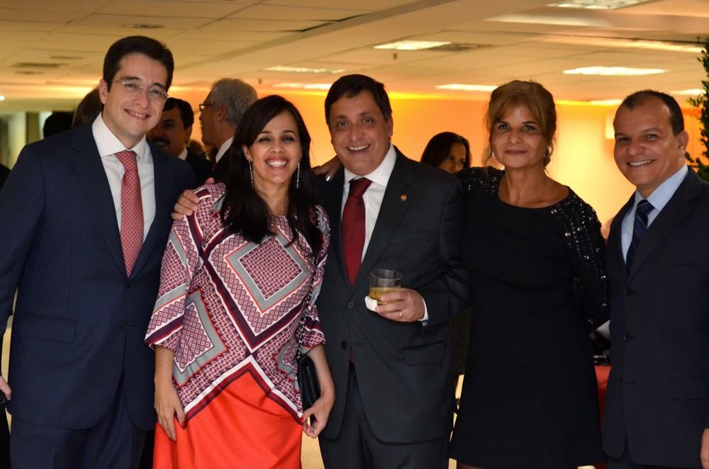 Veja fotos da animada confraternização pela posse da nova diretoria do IAB, em evento realizado na OAB-RJ, em maio