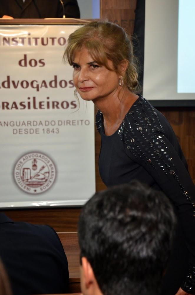 Posse da nova Diretoria do IAB (Instituto dos Advogados Brasileiros) para o Biênio 2014-2016