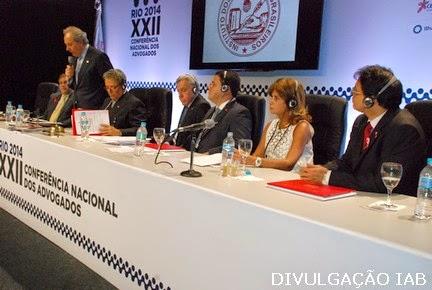 XXIIª CONFERÊNCIA NACIONAL DOS ADVOGADOS CONTA COM A PARTICIPAÇÃO DE RITA CORTEZ