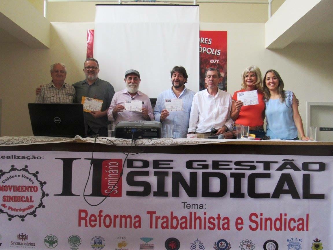 Rita Cortez palestrou dia 28 de outubro no segundo Seminário de Gestão Sindical em Petrópolis