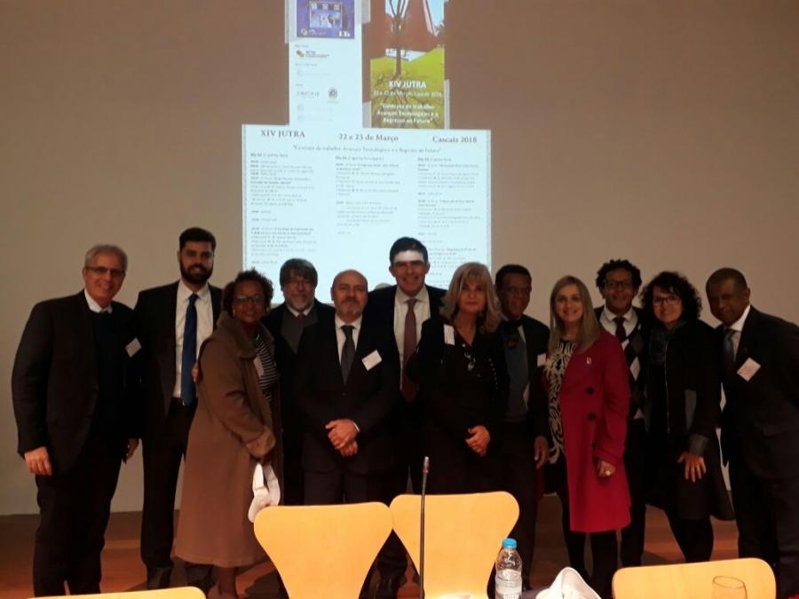 Rita Cortez representa o IAB em evento que reuniu juristas do trabalho em Portugal