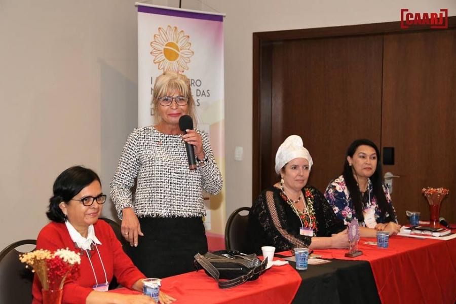 Rita Cortez participou do 1º Encontro Nacional das Advogadas do Brasil