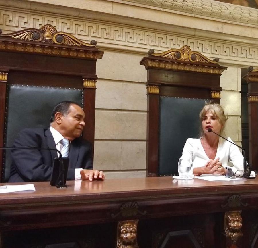 Rita Cortez elogia atuação do presidente da Anacrim em defesa dos direitos fundamentais