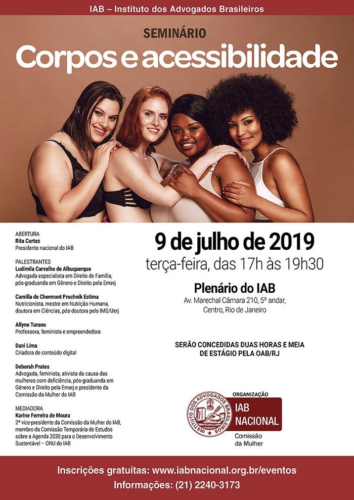 """Rita Cortez abrirá seminário sobre """"Corpos e Acessibilidade"""" no dia 9/7"""