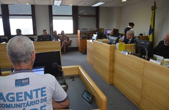 Caio Gaudio participa de audiência que determinou arresto de R$ 38 milhões na conta geral do Município do RJ