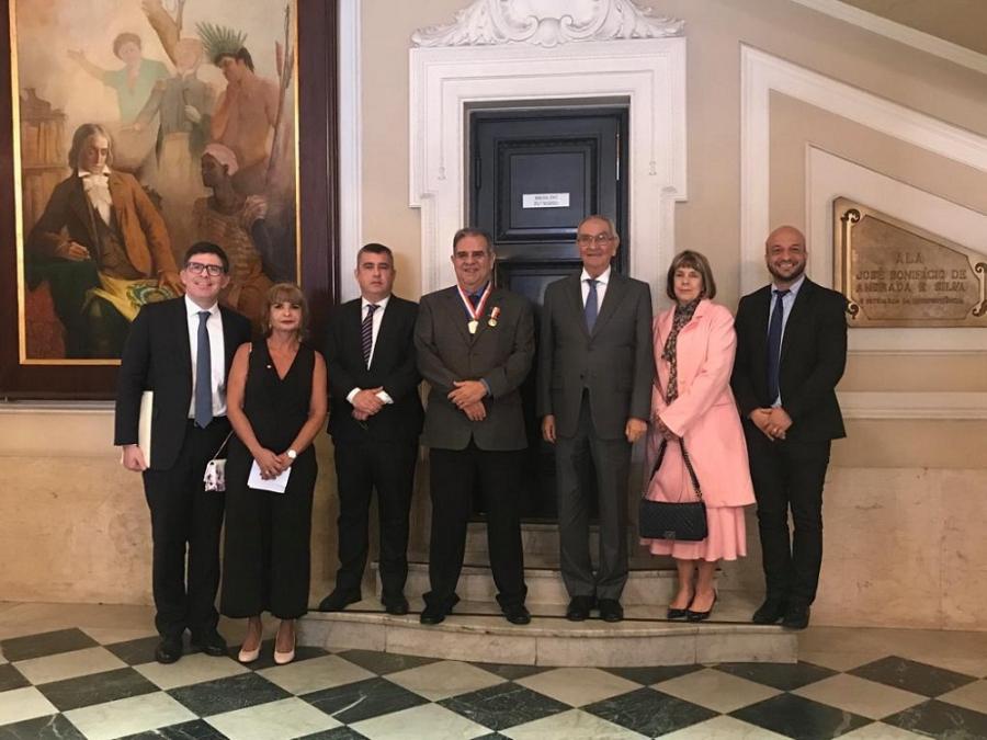 Rita Cortez prestigia homenagem ao presidente do TRT/RJ na Câmara Municipal do Rio