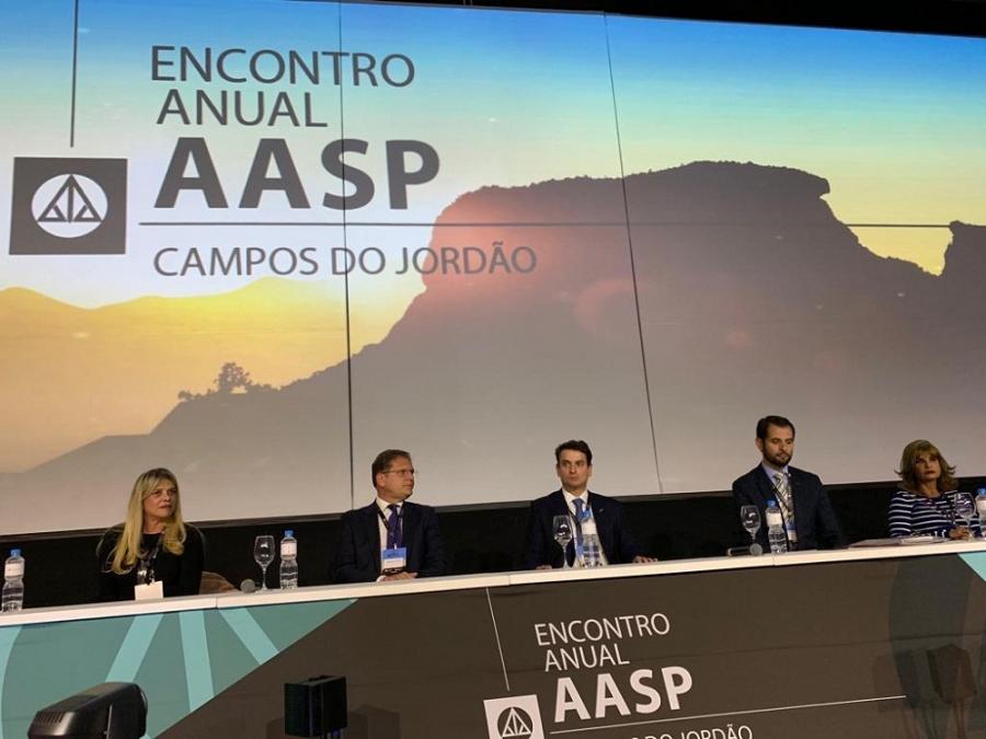 Rita Cortez elogia 'eventos de inquestionável qualidade jurídica' promovidos pela Aasp
