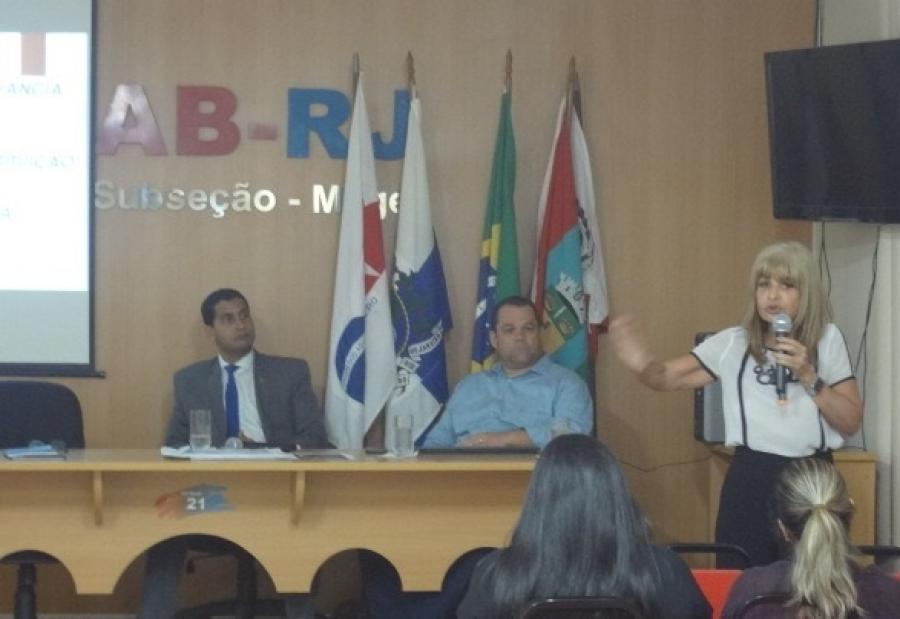 Rita Cortez faz palestra sobre a criminalização da violação das prerrogativas da advocacia