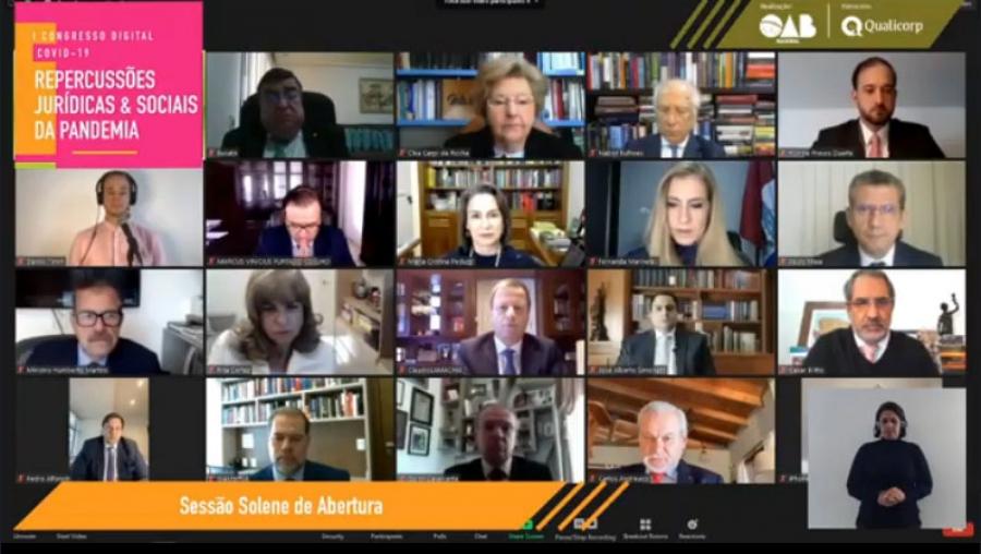 Dias Toffoli destaca 'a importância do IAB, presidido por Rita Cortez', na abertura de congresso da OAB