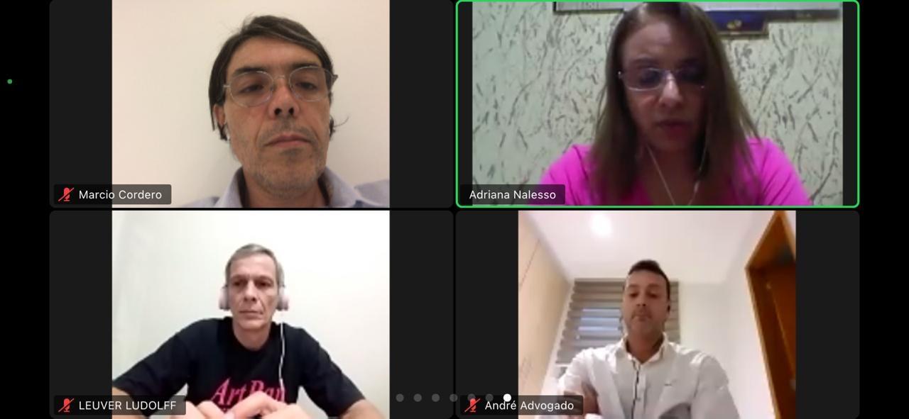 AJS participa de reunião para debater demissões no Bradesco