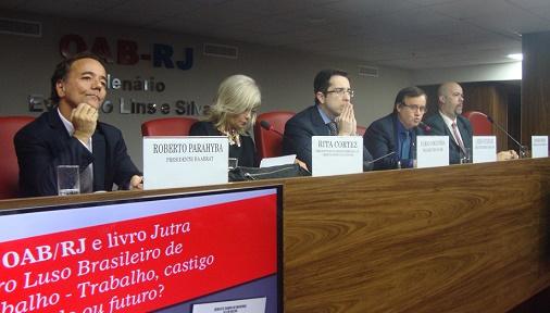Importante iniciativa da OAB/RJ contou com presença de Rita Cortez
