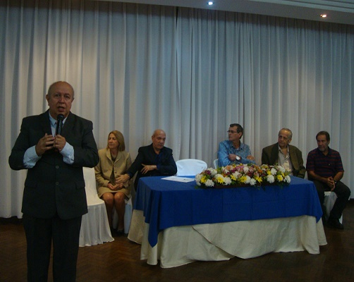 Advogados da AJS estiveram presentes na posse da nova diretoria do SINTRES-RJ