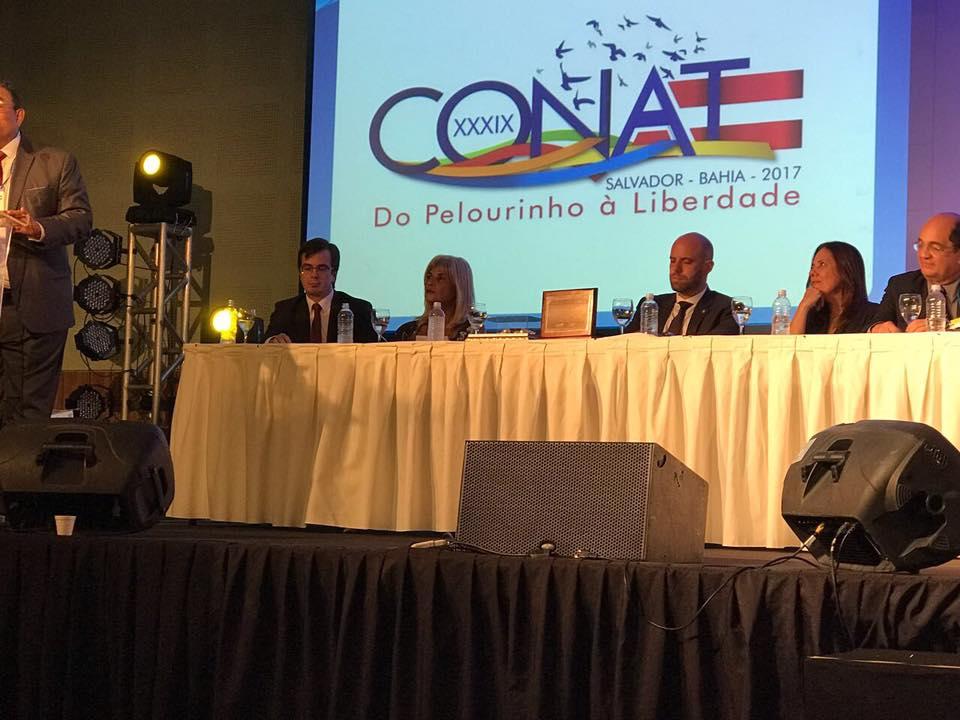 CONAT (Congresso Nacional da Advocacia Trabalhista) em Salvador tem presença da AJS