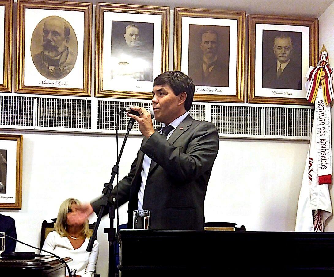 Marcio Cordero é empossado como membro efetivo do IAB