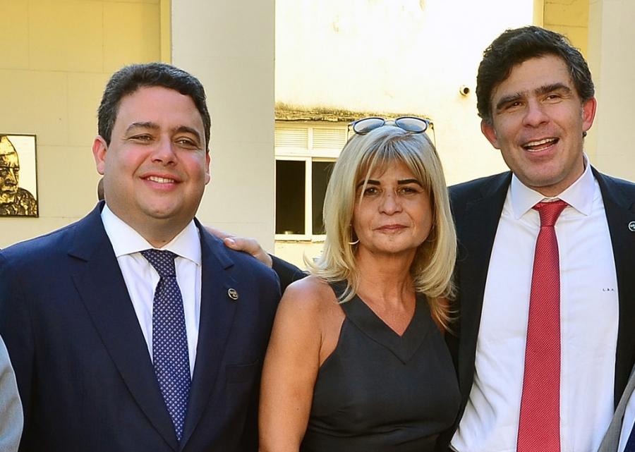 Rita Cortez participa da entrega da Ordem do Mérito Judiciário do TRT/RJ a quatro membros do IAB
