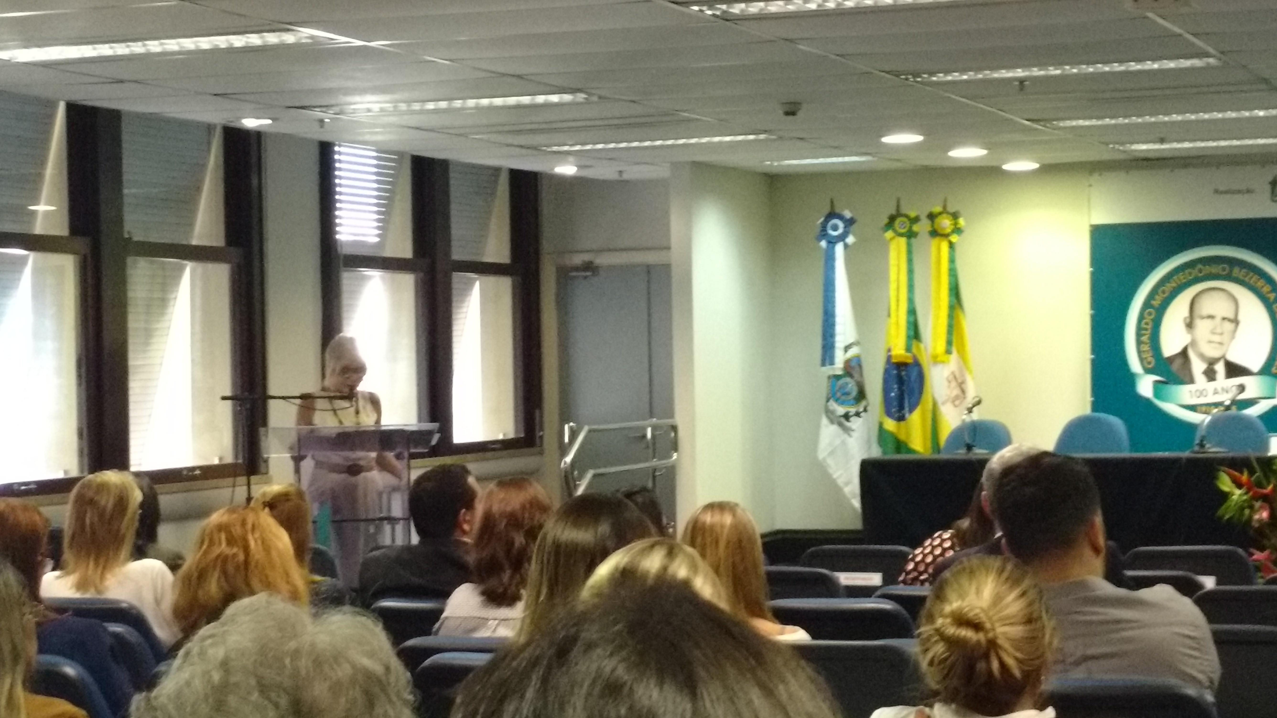 Rita Cortez faz palestra no TRT do Rio sobre reformas no direito coletivo do trabalho