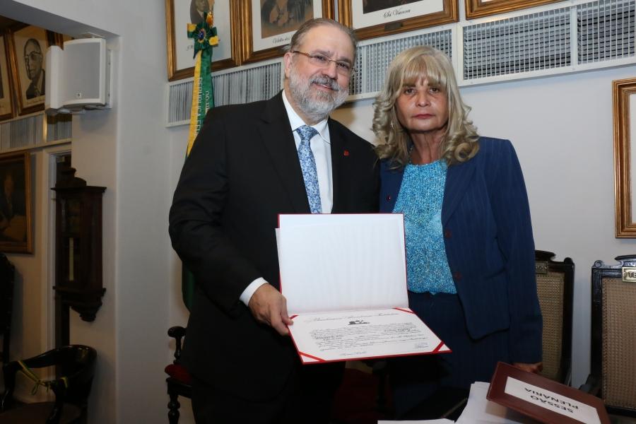 Rita Cortez dá posse a subprocurador-geral da República e a desembargadora do TJRJ