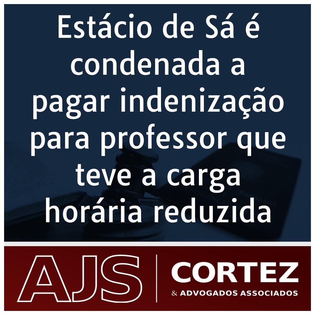 Estácio de Sá é condenada a pagar indenização para professor que teve carga horária reduzida