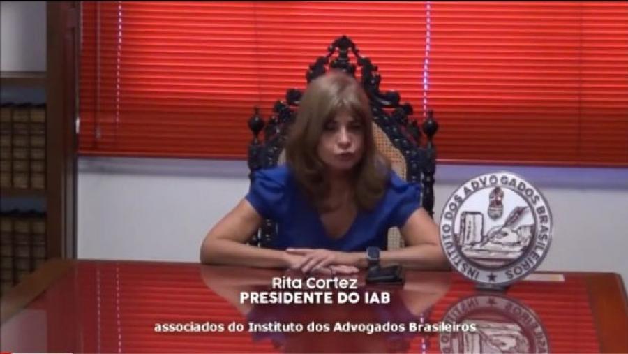 'A crise não pode ser pautada em interesses meramente econômicos', afirma Rita Cortez