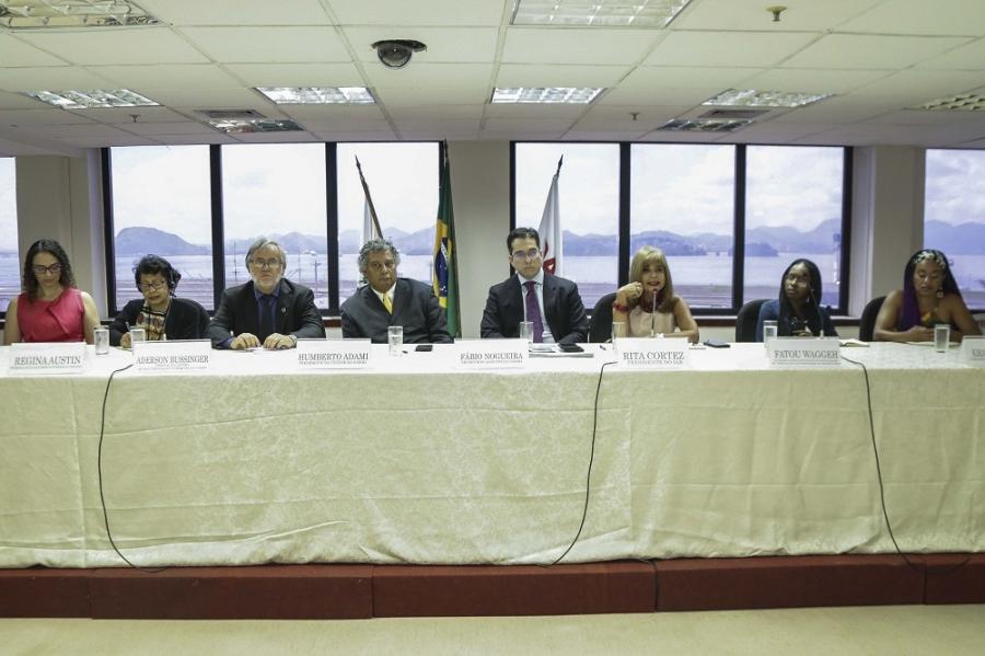 Rita Cortez defende intercâmbio de ideias com os EUA para reparação da escravidão negra