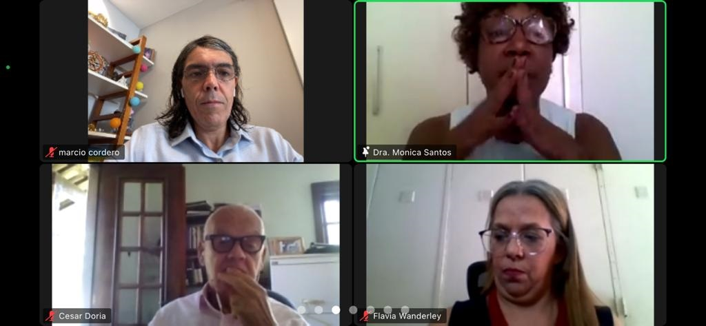 Marcio Cordero e Monica Alexandre Santos participam de audiência pública promovida pelo Saerj